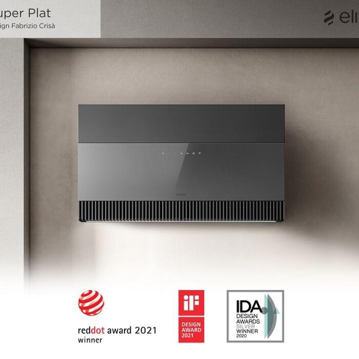 Okap Super Plat zdobywa Red Dot Award 2021 oraz IF Design Award 2021