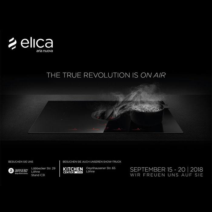 Elica präsentiert Produktneuheiten in Deutschland