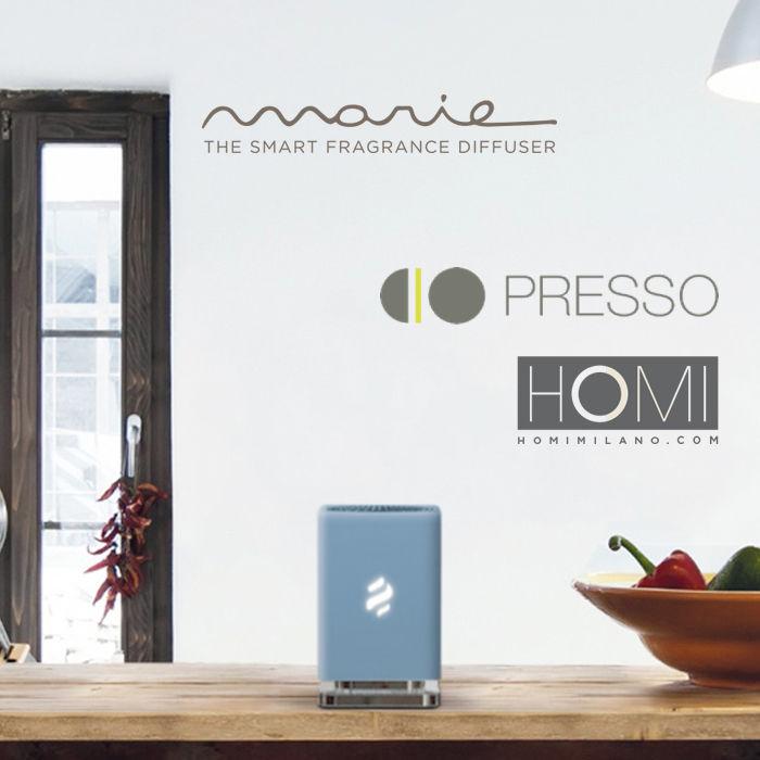 Elica in partnership con PRESSO,  per la prima volta a HOMI