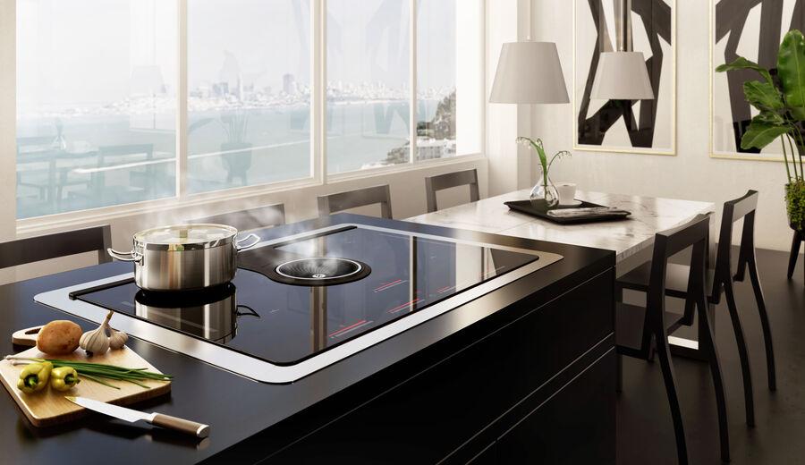 Induction cooktop Aspiration NikolaTesla One Elica