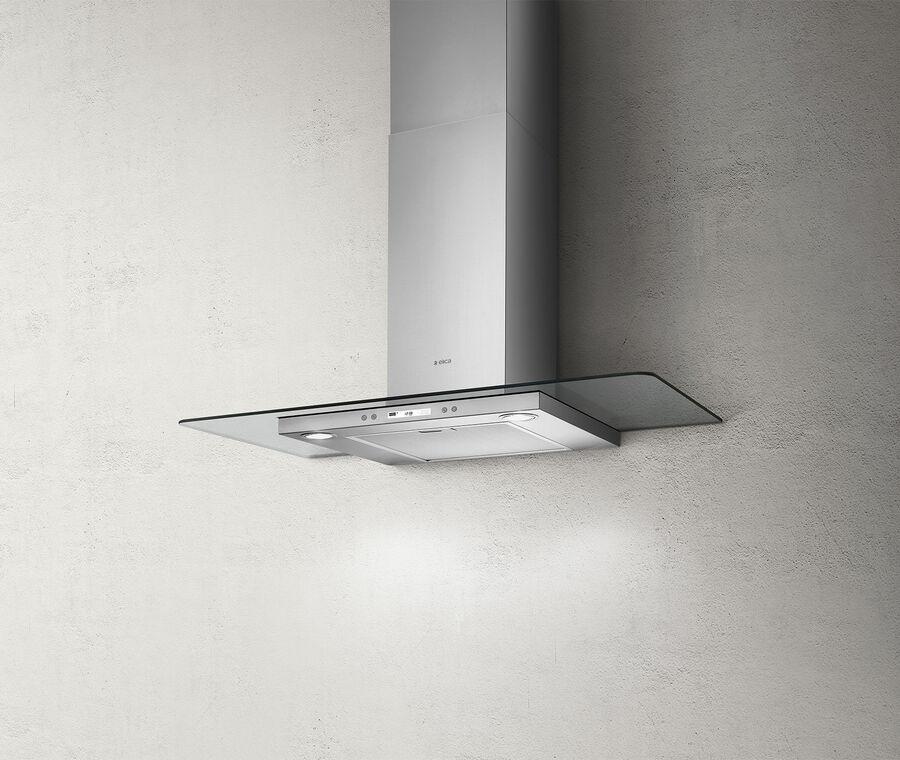 Hood Wall Flat Glass Plus Elica