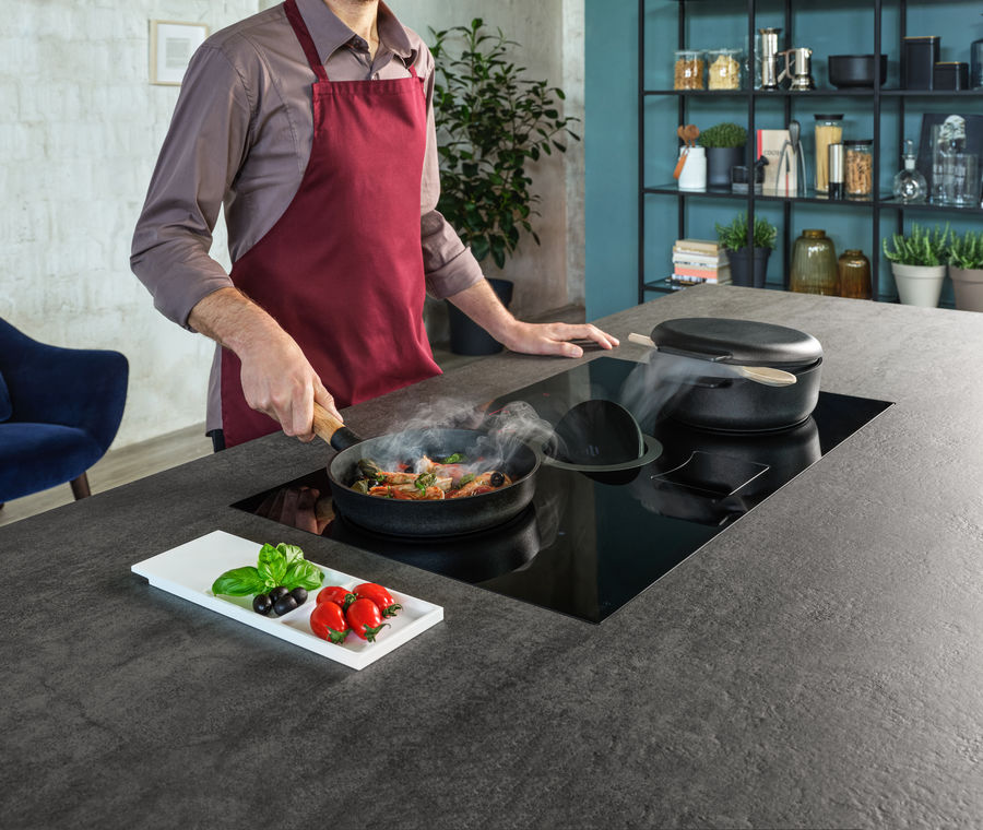 Induction cooktop Aspiration NIKOLATESLA SWITCH Elica